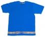 Name Belt tee - Blue