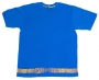 Name Belt tee - Blue